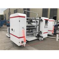 Buy cheap Self Adhesive Label Paper Roll Rewinding Machine , Slitter Rewinder Machine Centralized Control product
