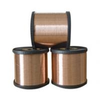 China Copper Clad Aluminum Magnesium Wire 0.127mm CCAM 10% by volume for screening purpose on sale