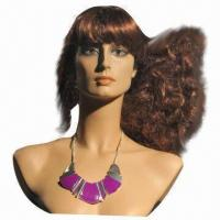 Buy cheap Fashionable Mannequin Head, FPR Material, Various Styles are Available, Unbreakable from wholesalers