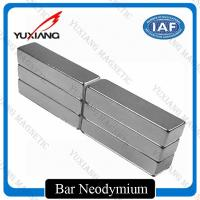Buy cheap Grade N52 Neodymium Bar Magnets +/-0.05mm Tolerance ISO9001 Certificated from wholesalers