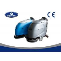 Buy cheap Battery Powered Commercial Floor Cleaning Machines For Hard Ground Places from wholesalers
