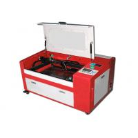 Buy cheap 2 Head CNC Fabric Cutting Table Roll Materials Co2 Engraver With Feed Rack from wholesalers