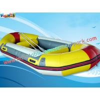 Buy cheap Customized 0.9mm Inflatable Boat Toys PVC Tarpaulin Fabric River Rafting from wholesalers