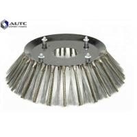 Buy cheap Steel Sweeper Broom Brushes Rotary Roller Customized Thickness Wear Resistant Aggressor XR Side Broom from wholesalers
