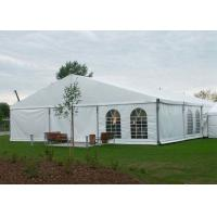 Buy cheap Event Mixed Garden Marquee Tent PVC Fabric Roof With Wooden Flooring from wholesalers