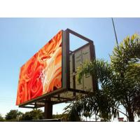 Wholesale Steel / Iron Material Outdoor Advertising LED Display Billboard 1R1G1B With Back Access from china suppliers