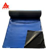 Buy cheap Blue Film Finish Self Adhesive Bitumen Waterproof Membrane With No Leaking from wholesalers