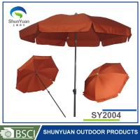 Buy cheap for outdoor furniture with UV80+ flag printed umbrella from wholesalers