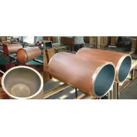 Buy cheap Ceramic Coating Copper Mould Tube For CCM Parabolic Taper Square Type High Withdrawal Speed from wholesalers