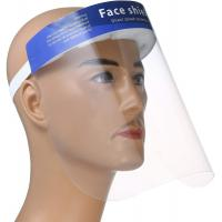 Buy cheap Nylon Elastic Band Medical Face Shield  Skin Friendly Sponge Strong Transparency from wholesalers