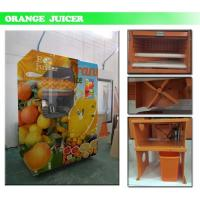 Fresh Citrus Juice Wifi Extraction Automatic Vending Machine With Touch Panel Manufactures