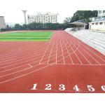 Buy cheap 400 Meters Synthetic Outdoor Flooring , Spray Coat Anti Static Flooring from wholesalers