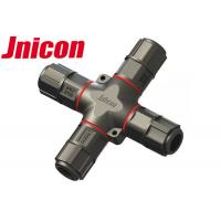 Wholesale Field Installable Waterproof Wire Connectors 4 Way With Gold - Plated Contact Pin from china suppliers