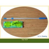 Wholesale Microfiber Flat Mop with Telescopic Alumunim Pole (YYFM-33) from china suppliers