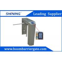 Wholesale AC Remote Cotrol LED Automatic Turnstile Gate With Fingerprint Reader from china suppliers