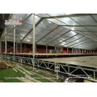 Buy cheap Heavy Duty Adjustable Steel Truss Decking Floor Tent / Outdoor Event Party Tent from wholesalers