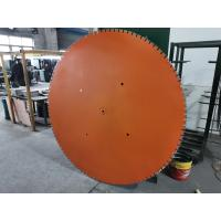 Buy cheap 1800mm 72 Inch Big Reinforced Concrete Wall Cutting Saw Depth Of Cut Up To 83cm from wholesalers