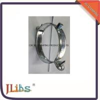 Buy cheap Custom Standard Galvanised Steel Hanging Pipe Clamps 63mm - 315mm from wholesalers