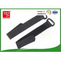 Buy cheap Adjustable Solid Hook and Loop Straps With Plastic Buckle Banding Goods from wholesalers