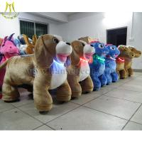 Buy cheap Hansel 2016 high quality Plush Animal Electric Scooter Electric Animal Ride Cheap Go Karts For Sale from wholesalers