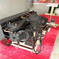 Buy cheap 40 Bar Pressure Piston Air Compressor , Low Noise Oil Free Air Compressor from wholesalers