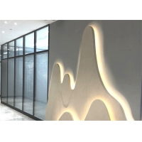 Buy cheap External Operable Office Glass Partition Walls With 80mm Thickness from wholesalers