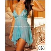 Buy cheap Deep V Sexy Lingerie Dress Sexy Underwear Women Lace Babydoll from wholesalers