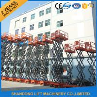 Buy cheap High Rise Telescopic Work Platform for Elevated Aerial Working 3.2km/h Travel Speed from wholesalers