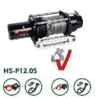 Buy cheap Synthetic Rope Winch 12000lb (HS-P12.0s) from wholesalers