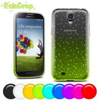 Raindrop design Samsung Cell phone Covers for Galaxy S4 protective back case