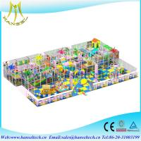 Hansel hot sell cheap 2017 childrens fun parks games softplay indoor playgrounds Manufactures