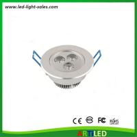 Buy cheap 3W high power LED ceiling lights with adjustable angle for commercial and home use from wholesalers
