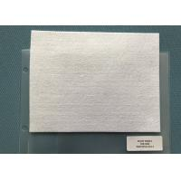 Buy cheap 250 Gsm Snow White Needle Punched Felt Fabric Squares For Mats , 5mm Thickness from wholesalers
