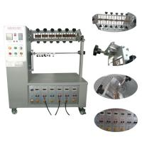 Buy cheap 6 Station Power Plug Tester Flexing Test Swivel Machine FL-1 10~60 Times/Min from wholesalers