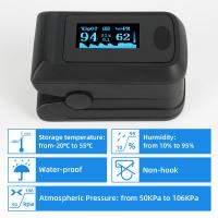 Buy cheap SpO2 Oxygen Saturation Pulse Oximeter , Accurate Handheld PI PR Fingertip Pulse Oximetro from wholesalers
