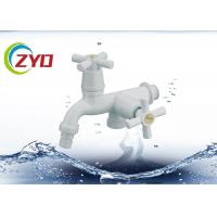 Buy cheap Plastic Nozzle Laundry Washing Machine TapsWith Two Flexible Cross Handle from wholesalers