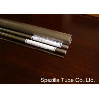 Buy cheap Commercially 3 Inch Titanium Pipe , Titanium Exhaust Tubing ASTM B862 UNS R50400 from wholesalers
