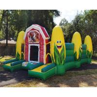 Buy cheap Hot Inflatable Corn Maze Fall Event Sports Games Obstacle Course Jeux Gonflable from wholesalers