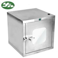 Stainless Steel Static Cleanroom Pass Box With Mechanical Interlock Structure