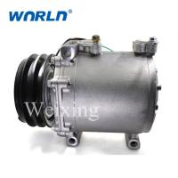 Buy cheap AUTO A/C COMPRESSOR For Mitsubishi Bus 2B MSC200 truck air conditioner 24Volt cooling pumps replacement from wholesalers
