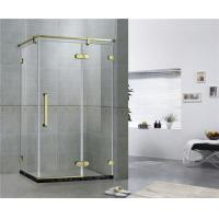 Buy cheap Simple Frameless Hinged Shower Door Framed Shower Enclosure CE Certification from wholesalers