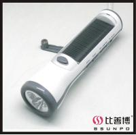 Buy cheap Crank Dynamo Solar Flashlight Radio (BSP-285) from wholesalers