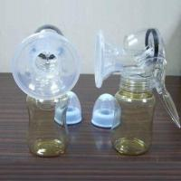 Wholesale Manual Breast Pump with Silicone Petal-shaped Funnel Cover from china suppliers