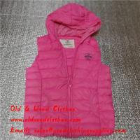 Buy cheap Clean Original Used Kids Clothes Second Hand Toddler Clothes In Winer from wholesalers