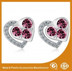 Wholesale Pretty Stainless Steel Stud Earrings Metal Earrings For Ladies / Girls from china suppliers