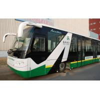 Buy cheap 14 Seat 6 Door Diesel Engine Airport Transfer Bus Airport Coaches 110 passengers product