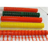 Buy cheap High Visablity Orange Plastic Safety Fence With Barrier Tape / Traffic Cones from wholesalers