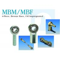 China Bronze Race Stainless Steel Rod Ends MBM / MBF 4-Piece Oil Impregnated on sale
