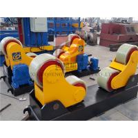 Automatic Pipe Welding Rotators Center for Windmill , Self Aligning Welding Rotator Manufactures