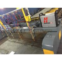 Buy cheap Automated CNC Plasma Cutting Machine Double Driving 4m Span 15m Rails from wholesalers